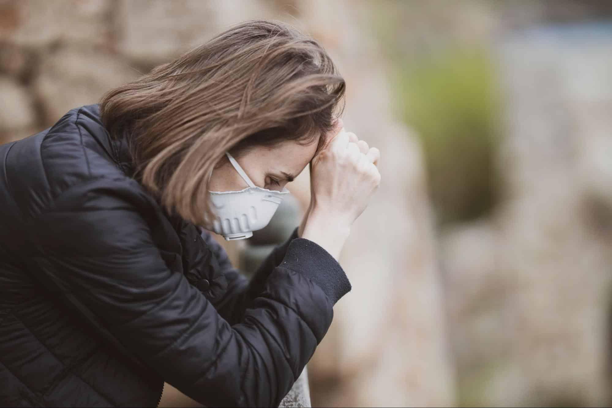 The Smog Causes Irritation and Headache