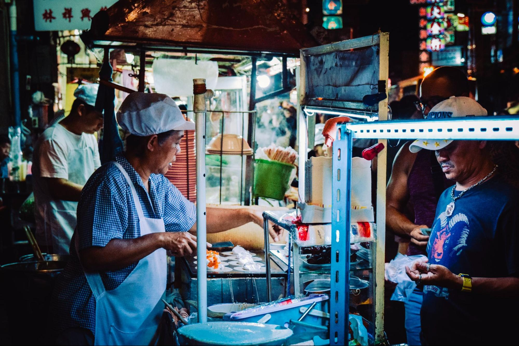 Street Food Stall in Chiang Mai