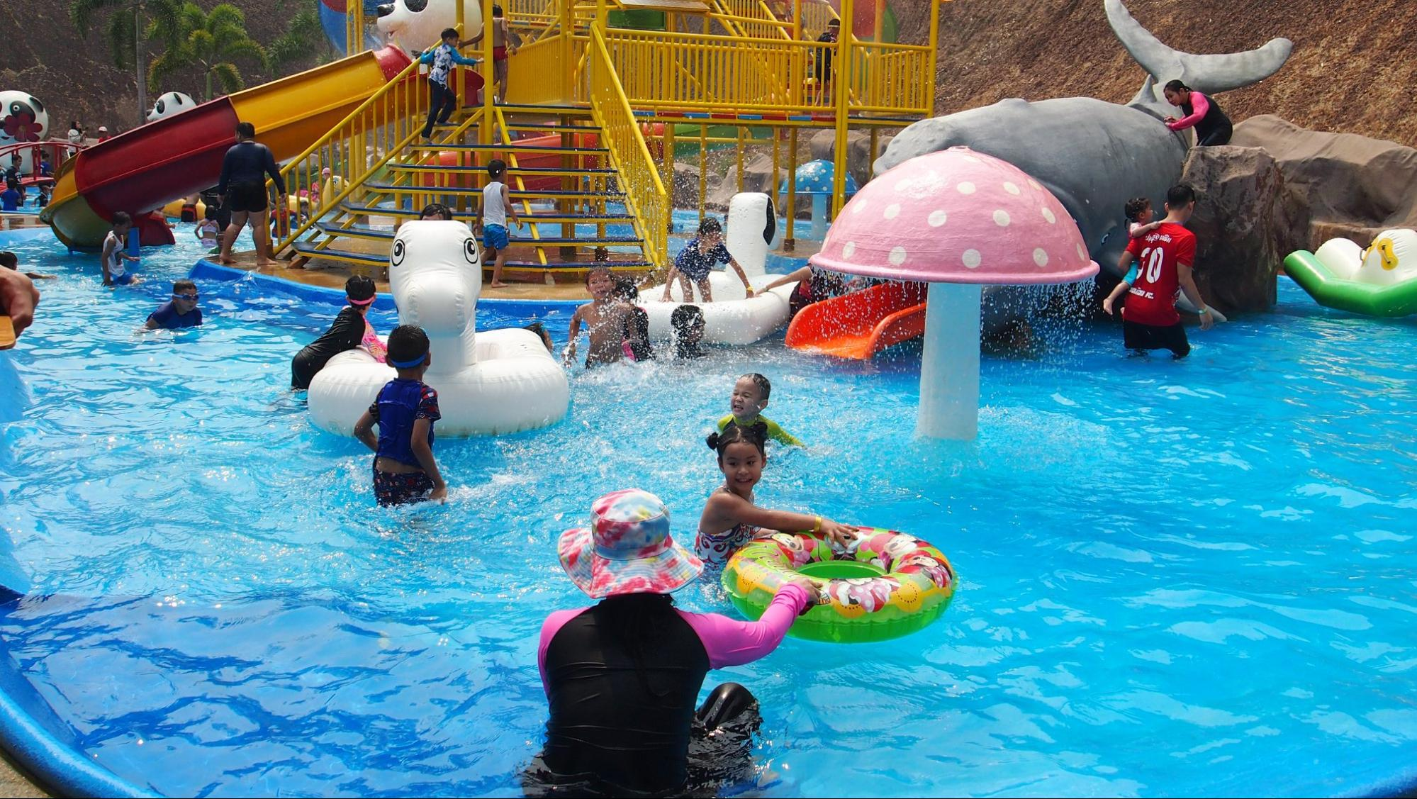 The Kiddy Water park Session