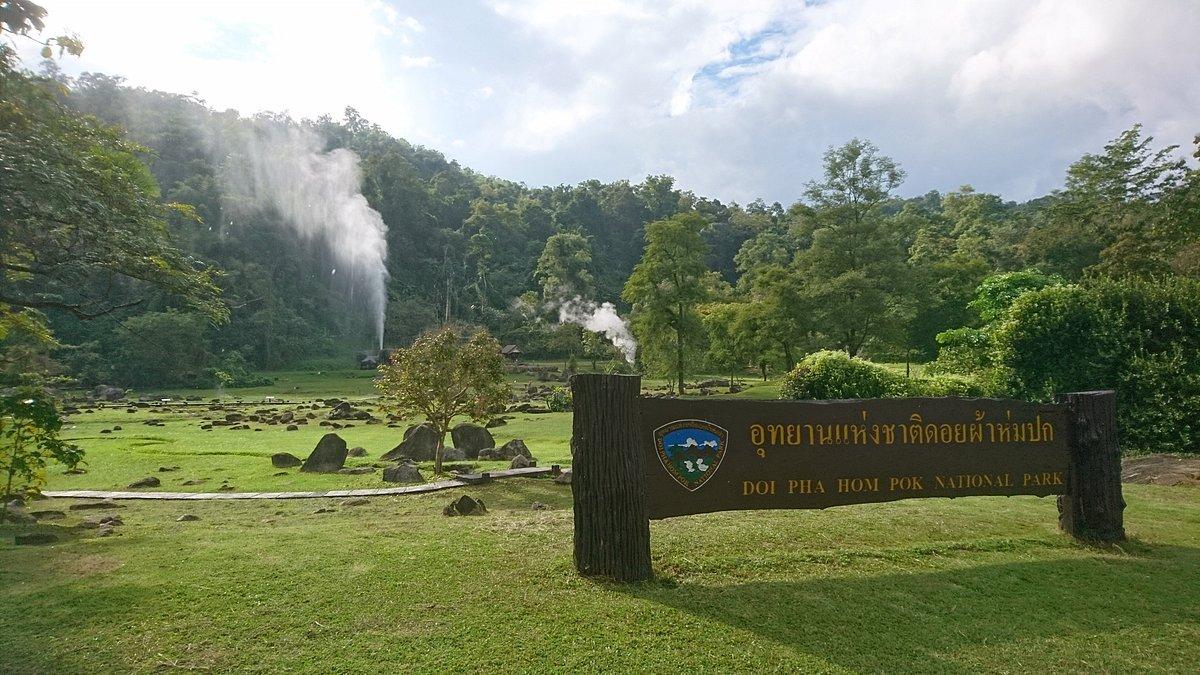 The Fan Hot Springs