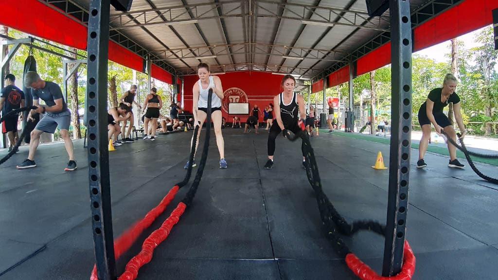 Fitness Program at the Titan Fitness Camp in Phuket