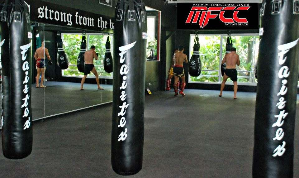Fitness enthusiast at the best Muay Thai Fitness Studio in Phuket- Maximum Fitness and Combat Center