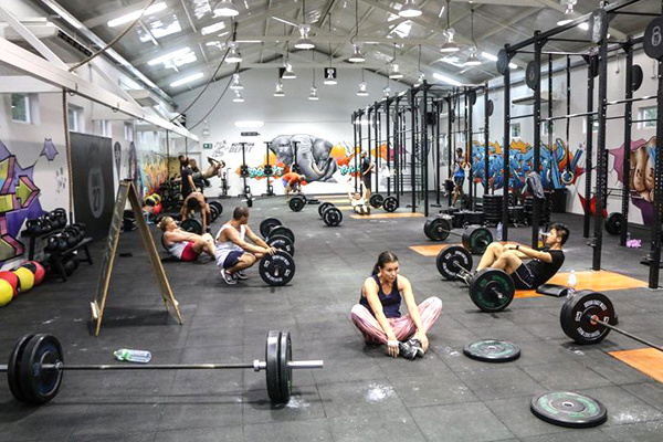 Modern Fitness Machines at the Unit 27 CrossFit Training Center in Phuket
