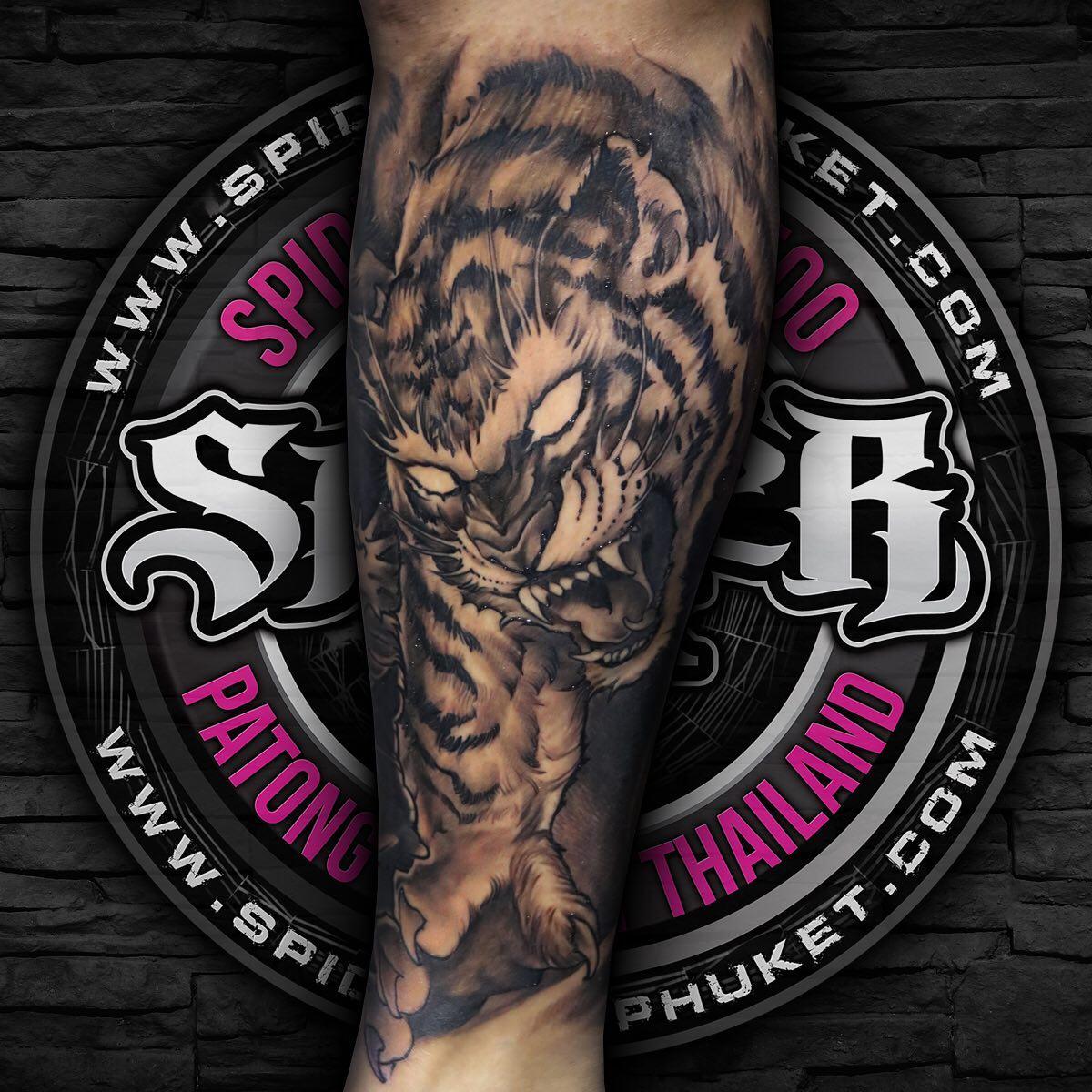 Spider Ink Phuket Tattoo Studio