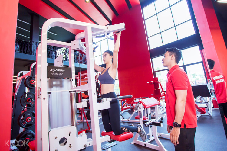 The Biggest Fitness Centre in Phuket- Alpha Health Club